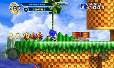 Sonic The Hedgehog Episode 1 - Android game screenshots. Gameplay Sonic The Hedgehog Episode Sonic The Hedgehog 4, Classic Sonic, Game Update, Latest Games, Best Apps, Fast And Furious, Android Apps, Ipad, Iphone