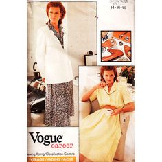 Vogue Sewing Pattern 7157 Misses' Petite Jacket and by PatternWalk