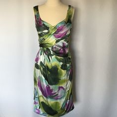 Suzi CHIN for MAGGYWatercolor dress S -4 Gorgeous water colors,nice design,perfect dress Suzi Chin for Maggy boutique Dresses