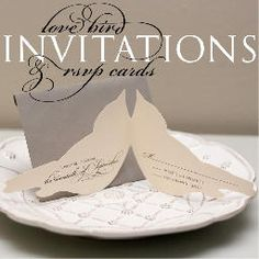 Bird Invitations    Pretty in White Events I Wedding Planning