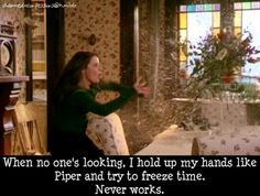 I LOVE IT WHEN PIPER HALLIWELL STOPS THINGS LIKE THAT IT COOL CHARMED FOREVER
