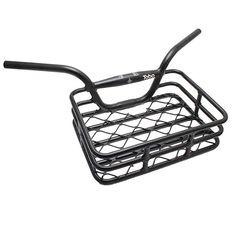 Evo Brooklyn Handlebar w/Basket Black & clamp Bicycle Basket, Bike Parts, Street Bikes, Bike Life, Evo, Clamp, All In One, Brooklyn, Stuff To Buy
