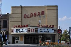 Oldham Theater in Winchester TN