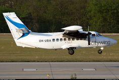 OK-UBA Citywing Let L-410UVP Turbolet