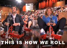 This is how WE roll! (me and NASCAR's Jimmie Johnson) Queen Latifah Show, Nascar Racers, Favorite Person, Behind The Scenes, Actresses, In This Moment, Celebrities, Female Actresses, Celebs