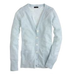 J Crew cashmere boyfriend cardi in blue heather Worn 1x. No flaws. Selling as I just don't wear this color! Super-soft & cozy! J. Crew Sweaters Cardigans