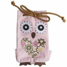 Pier One - Owl Fabric Bag
