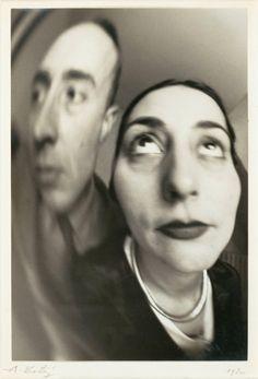 André Kertész, Self-Portrait with Woman, 1927, MOMA