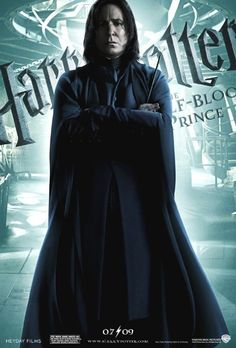 Severus Snape - Harry Potter and the Half-Blood Prince I have been looking for this poster forever