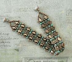 Linda's Crafty Inspirations: Bracelet of the Day: Margareta DiamonDuo Bracelet