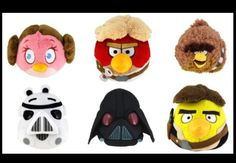 Angry bird star war Party favors