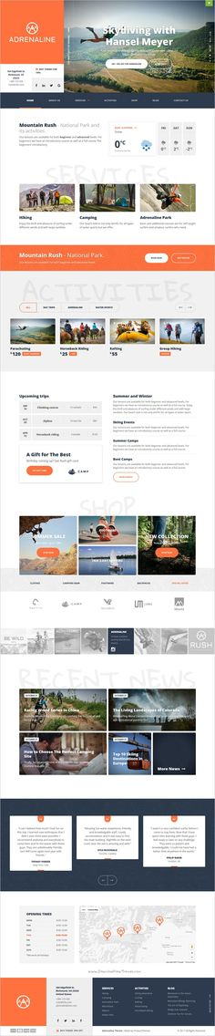 Adrenaline is beautifully design responsive #WordPress theme for #webdesign extreme #sports, outdoor #adventure like: bungee jumping, paintball, rock climbing or kayaking website download now➩ https://themeforest.net/item/extreme-sports-wordpress-theme-for-outdoor-adventure-businesses-adrenaline/19081216?ref=Datasata