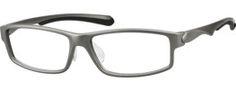 Men's Sporty Rectangular Eyeglasses
