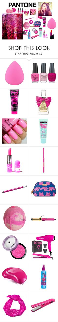 """""""P!nk"""" by kendalljenner01 ❤ liked on Polyvore featuring beauty, Zodaca, MAC Cosmetics, OPI, Juicy Couture, Maybelline, Lime Crime, tarte, Urban Decay and Lilly Pulitzer"""