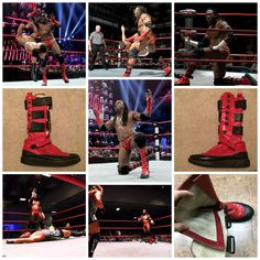 "World Wrestling Entertainment (W.W.E.) Superstar and (&) former (fmr) World Championship Wrestling (W.C.W.) professional (pro) wrestler, ""Booker T"", is auctioning off one (1) of his many worn wrestling boots, signed by the athlete himself!!!!!"