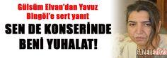 Gülsüm Elvan'dan Yavuz Bingöl'e yanıt - Gazete 2023 | Son Dakika | Haber | Gündem