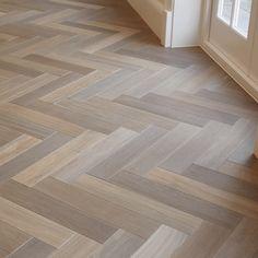 Karndean Flooring, Herringbone Wood Floor, Basement Flooring, Floor Design, Hardwood Floors, House Interior, Flooring, Basement Flooring Options, Herringbone Tile Floors