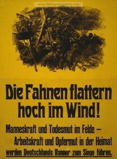 Examples of Propaganda from WW1 | German WW1 Propaganda Posters Page 30