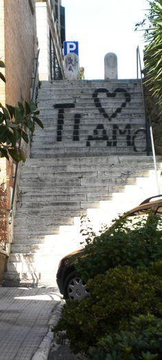 Ti Amo steps , Italy.. The Passion!! <3