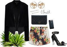 """Up all night to get lucky"" by carynanoel ❤ liked on Polyvore"