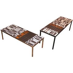 Tables by Roger Capron