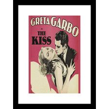 Kiss Framed Vintage Advertisement