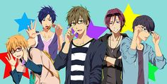 "Im just imagining nagisa in 50% off taking rei's glasses and being like ""Do not be alarmed, I am about to be hilarious"""