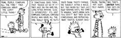 Calvin and Hobbes for January 17, 2014