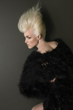 Philip Bell #BHA 2009 Scottish Ishoka Hairdressing and Beauty - Creative hairdressers #Blonde #Updo #Hairstyle