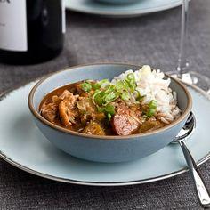 Chicken-and-Okra Gumbo // More Terrific Gumbos: http://www.foodandwine.com/slideshows/gumbo-recipes #foodandwine