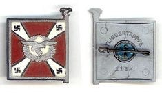 Fliegertruppe___This set was sold on the and March 1940 (Tag der Wehrmacht)__ADV_Source: J Temple-West Charitable Donations, Pin Badges, Temple, Third, March, Temples, Mars