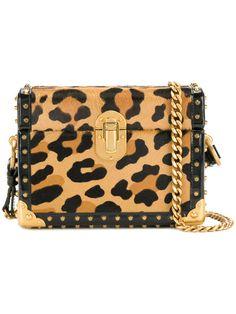Prada Treasure Trunk Micro Leopard Print Box Bag - Farfetch 4d6928b587377