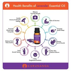 "1,646 Likes, 5 Comments - GuruNandaEO (@gurunandaeo) on Instagram: ""Lavender essential oil is the most versatile with many uses. What is your favorite #essentialoil?…"""