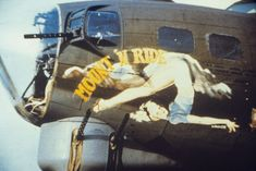 """Check out some of the coolest pieces of art the skies of World War II had to offer in this aircraft """"Nose Art"""" gallery. P 47 Thunderbolt, Ww2 Photos, Nose Art, Aviation Art, Fighter Aircraft, Military Art, World War Ii, Art Girl, Art Gallery"""