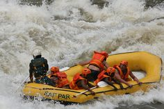 White Water Rafting the Zambezi by Nomad Africa Adventure Tours, via Flickr