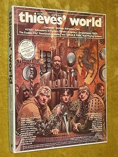 Swords & Stitchery - Old Time Sewing & Table Top Rpg Blog: Retro Review Thieves World Roleplaying Game (Boxed Set) By Greg Stafford For Your Old School Campaigns