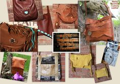 fabulous variety of hand-made leather bags by Rocky Mountain Custom Leather