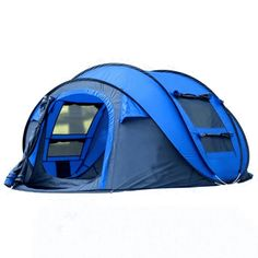 lightly and open instantly Wide and and not crowded with people. Permeable and not the package, touch the tape throw it out gently and then it is unfolded immediately. Women can do it door gauze. Protection of privacy. Breathable and Pop Up Camping Tent, Outdoor Camping, Outdoor Gear, Family Camping, Camping Gear, Backpacking Tent, Camping List, Camping Glamping, Large Pop Up Tent