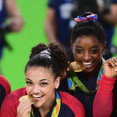 Simone Biles and Laurie Hernandez were born for the balance beam | Essence.com