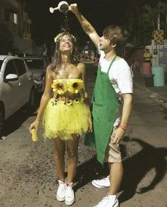 Ready for the perfect couples halloween costume? This year go all out for your halloween party. This post covers best couples halloween costumes idea for the college party! Cute Couple Halloween Costumes, Cute Costumes, Halloween Outfits, Diy Halloween, Couple Costume Ideas, Funny Couple Costumes, Costumes With Tutus, College Couple Costumes, Feminist Halloween Costumes
