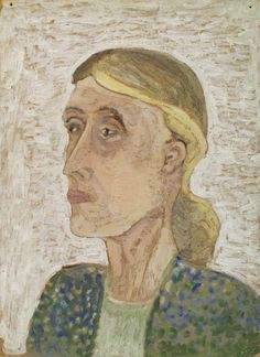¤ Virginia Woolf portrait by Ray Strachey.
