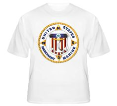 Emblem - US Merchant Marine - White via Military Insignia Clothing and Products. Click on the image to see more!