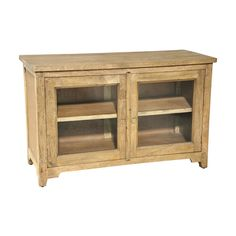 Shop Casual Elements  MAH446 Summer Buffet with Glass Doors at The Mine. Browse our buffets, sideboards & hutches, all with free shipping and best price guaranteed.