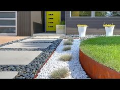 See how Easy Front Yard Landscaping can be achieve with these easy tips and lawn videos.