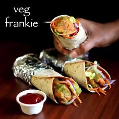 veg frankie recipe, veg kathi roll recipe, veg frankie roll with step by step photo/video. street food of india also known as kati roll or frankie wrap. Spicy Recipes, Indian Food Recipes, Vegetarian Recipes, Cooking Recipes, Easy Iftar Recipes, Cucumber Recipes, Ramadan Recipes, Amish Recipes, Dutch Recipes