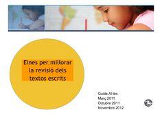 Recursos per revisar i editar els textos escrits by Guida Allès Pons via slideshare