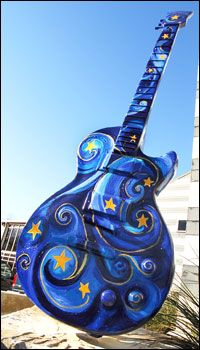 49 best guitar art of austin texas images on pinterest guitar art complete set of art guitars around austin texas malvernweather Gallery