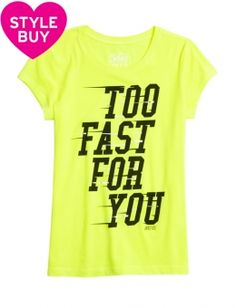 Too Fast Graphic Tee