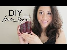 natural hair dye beet juice
