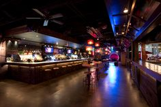 In doors at Proof Houston full bar great lighting Roof Top, Houston, Times Square, Doors, Bar, Lighting, Lights, Lightning, Gate